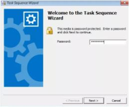 How to launch a specific task sequence from the command prompt